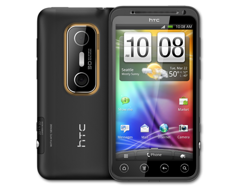 HTC Evo 3D in Pakistan
