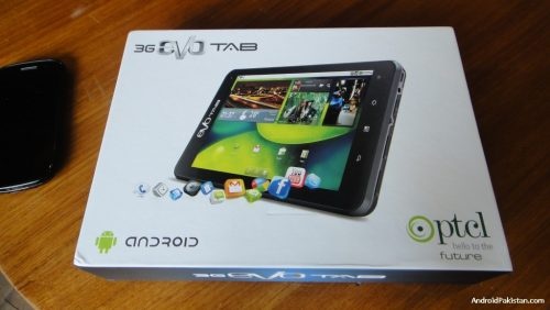 PTCL Evo Tab - 3G Android Tablet