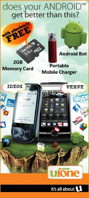 Ufone IDEOS/Verve - Android Phones