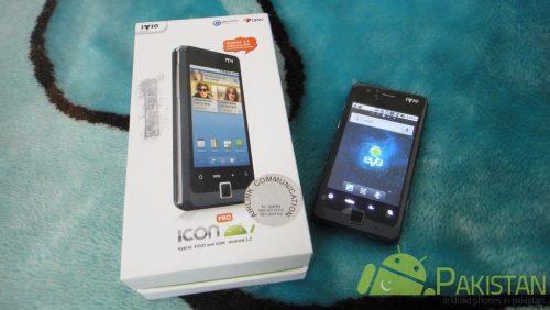 PTCL Android Phone - IVIO Icon Pro