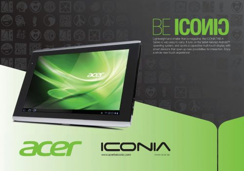 Acer Iconia Tab A500 Flier