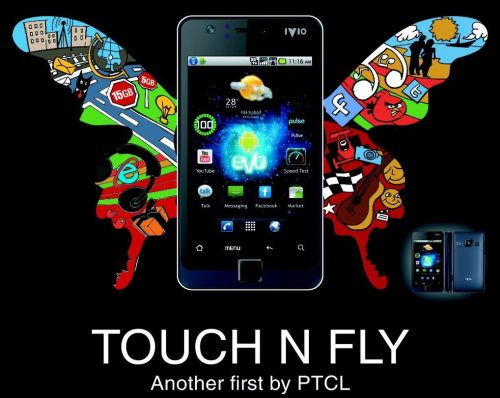PTCL 3G Android Phone - Touch N Fly