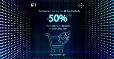 Xiaomi Pakistan - Mi Store Flash Sale